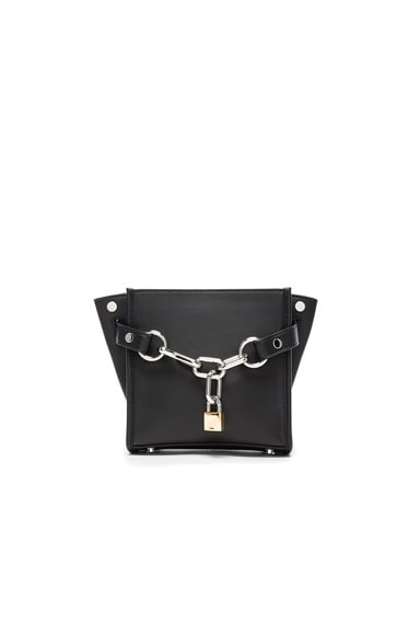 Alexander Wang Mini Attica Chain Bag in Black
