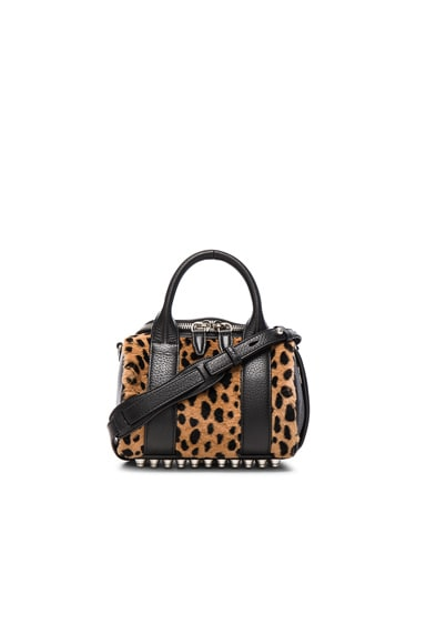 Alexander Wang Mini Rockie Bag in Cheetah