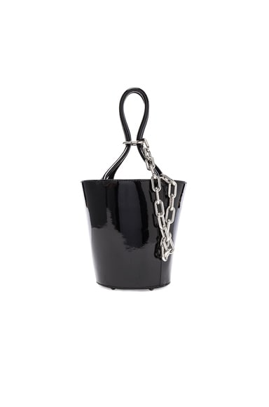 Roxy Mini Bucket Patent Bag