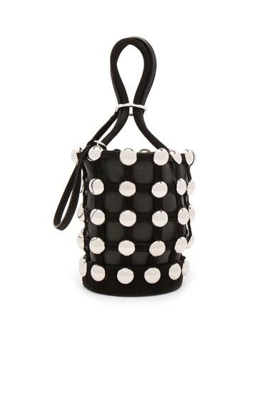 Roxy Mini Bucket Suede Studded Bag