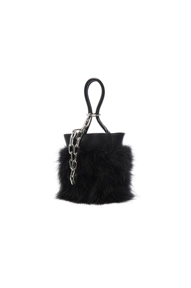 Roxy Mini Feather Bucket Bag