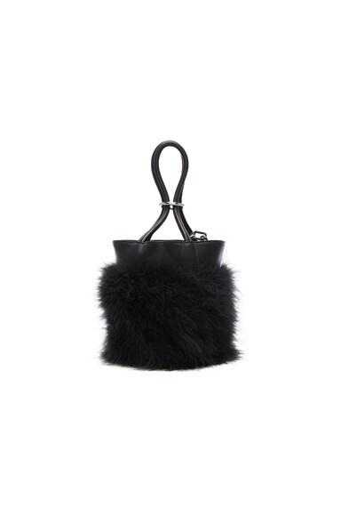 Roxy Mini Feather Bucket Bag