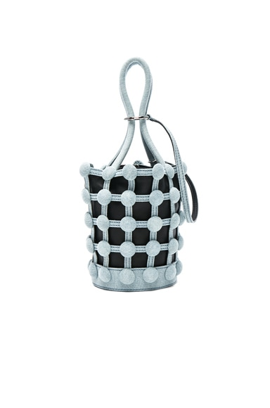 Roxy Dome Stud Mini Bucket Bag
