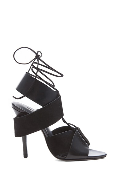 Malgosia Leather & Suede Sandals