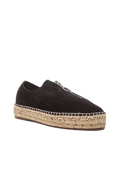 Devon Espadrille Suede Sneakers