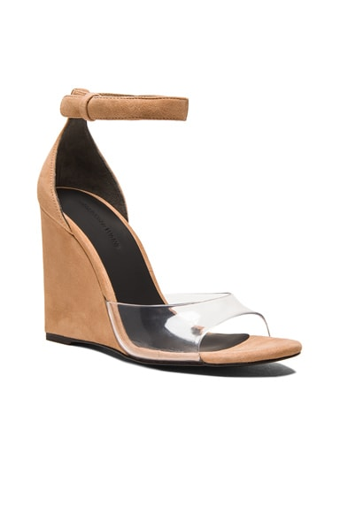 Erika Suede Wedge Sandals