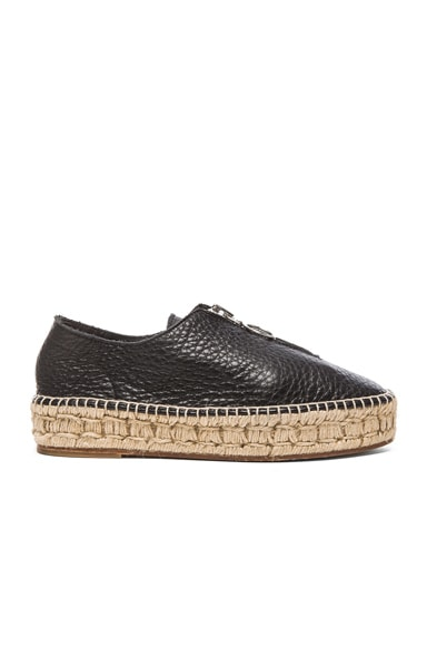 Alexander Wang Devon Espadrille in Black
