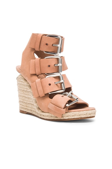 Jo Leather Wedges