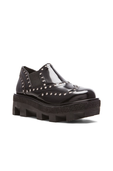 Steph Spazzolato Low Leather Oxfords