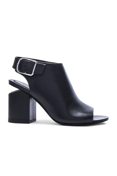 Alexander Wang Nadia Leather Heels in Black