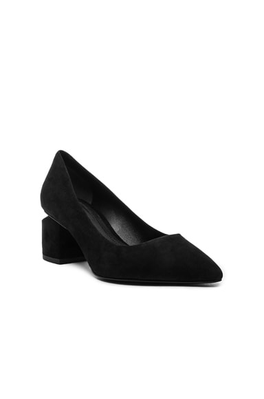 Suede Simona Pumps