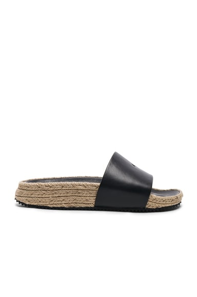 Leather Suki Slides