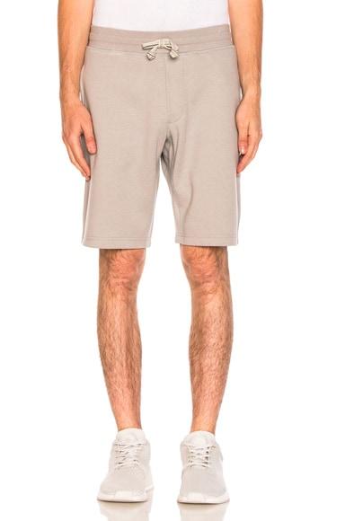 Bonded Linen Shorts