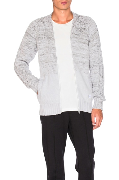 adidas by wings + horns Ombre Tracktop in Off White