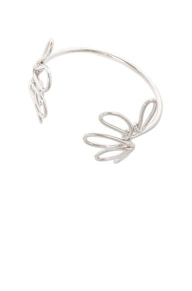 Beaufille Blossom Bangle in Sterling Silver