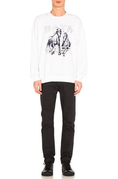 Horses Fleece Sweatshirt