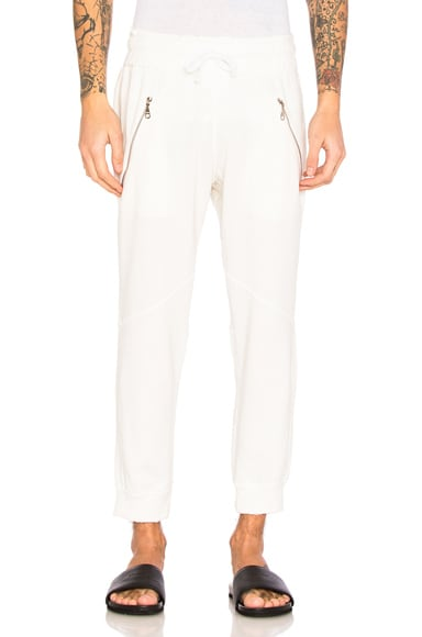 Baja East Sweatpants in Pearl