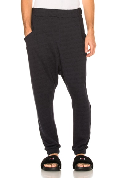 Baja East French Terry Sweatpants in Embassy