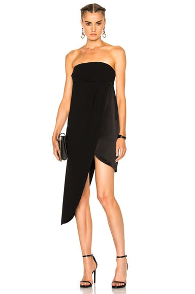 Baja East Bandeau Layer Dress in Embassy