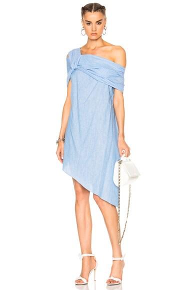 Cotton Stripe Dress
