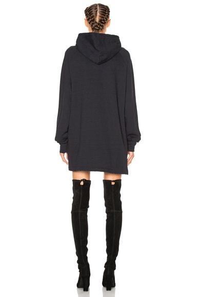French Terry Graphic Sweatshirt Dress