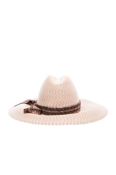 Baja East x Gigi Burris Straw Hat in Natural