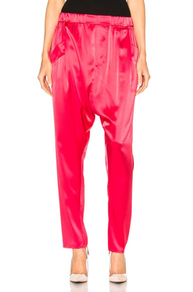 Satin Back Crepe Pant