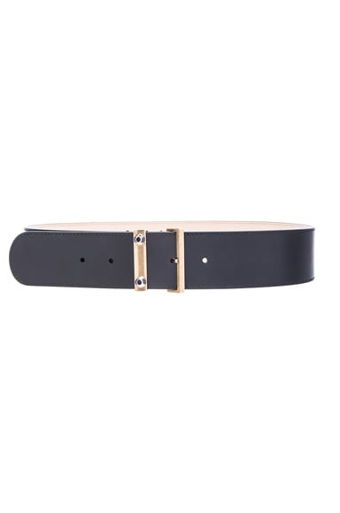 Balenciaga Stud Belt in Noir