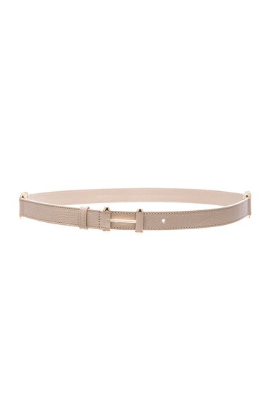 Balenciaga Pierce Belt in Beige Dune
