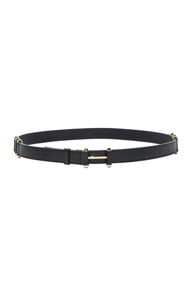 Balenciaga Pierce Belt in Noir