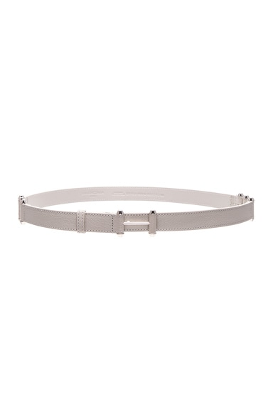 Balenciaga Pierce Belt in Gris Glace
