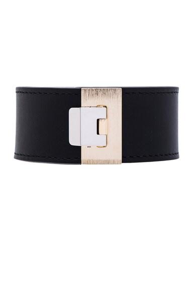 Balenciaga Le Dix Bracelet in Black