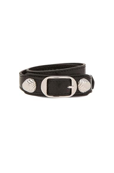 Balenciaga Giant Bracelet in Noir