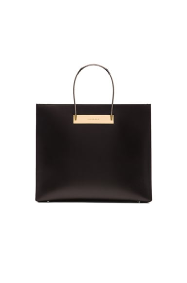 Balenciaga Medium Cable Shopper AJ in Black