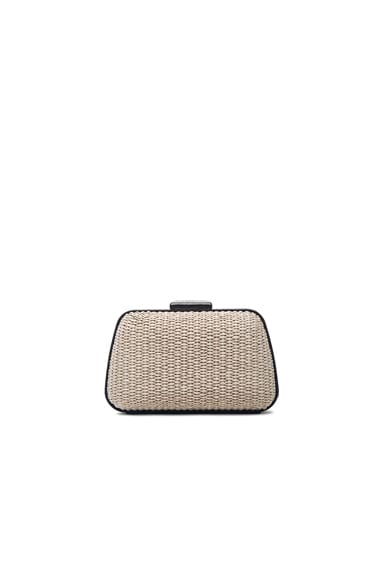 Balenciaga Minaudiere Box in Black & Natural