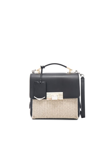 Balenciaga Le Dix Soft Mini in Naturel, Noir & Marron