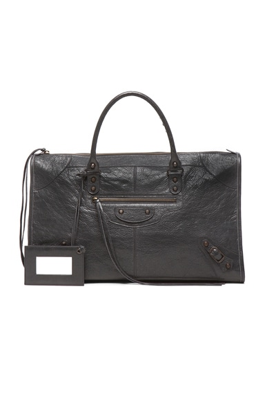 Balenciaga Classic Work Bag in Fossil Grey
