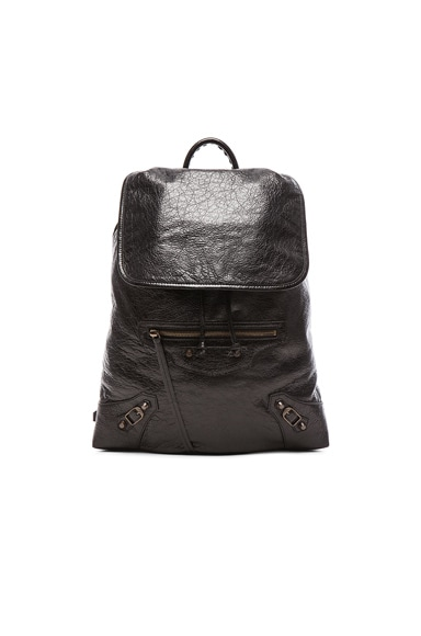 Classic Small Traveler Backpack with Traditional Studs
