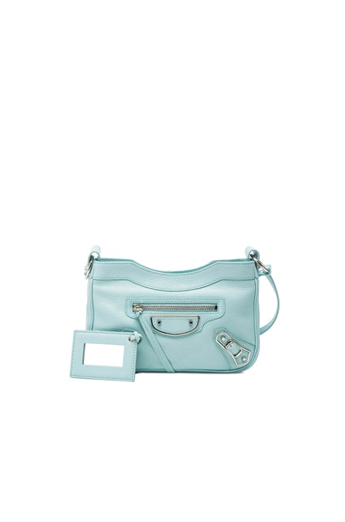 Balenciaga Metallic Edge Hip AJ in Maldives Blue