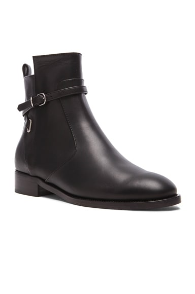 Calfskin Leather Boots