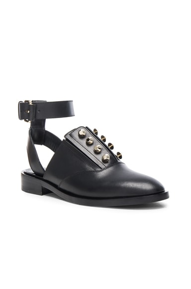 Leather Cut Out Derbies