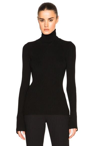 Barbara Bui Turtleneck Sweater in Black