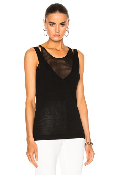 Barbara Bui Tank Top in Black