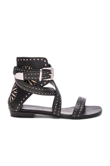 Leather Eva Sandals