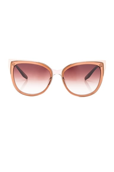 Barton Perreira Winette Sunglasses in Maple