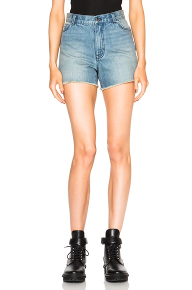 BLK DNM Jean Shorts 13 in Wicker Blue