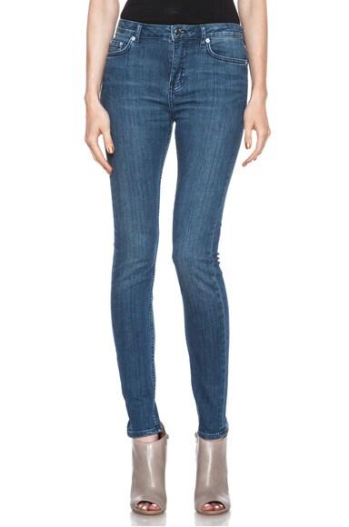 Low Waisted Skinny Straight Leg