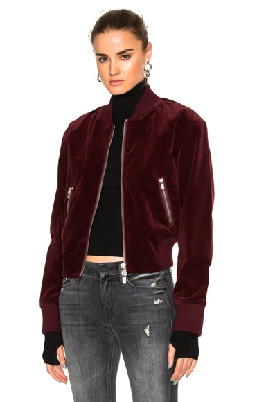 BLK DNM Jacket 26 in Burgundy