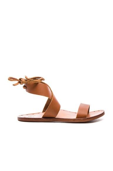 Beek Leather Cardinal Sandals in Tan