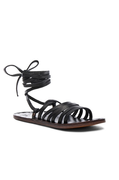 Leather Heron Sandals
